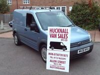 FORD TRANSIT CONNECT T200 L75 LOW MILES