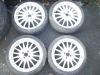 "FOR SALE 4 x 17"" Oz WHEELS"