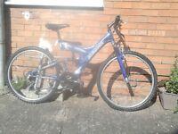 For sale bike 26 size wheel .