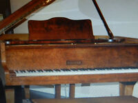FREE!! Vintage Bluthner Welmar small Grand Piano possibly Baby?