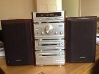 TECHNICS HD51 Stereo Hi-Fi system
