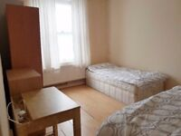 Bright and Spacious Double Room or Twin-Camden/Chalk Farm