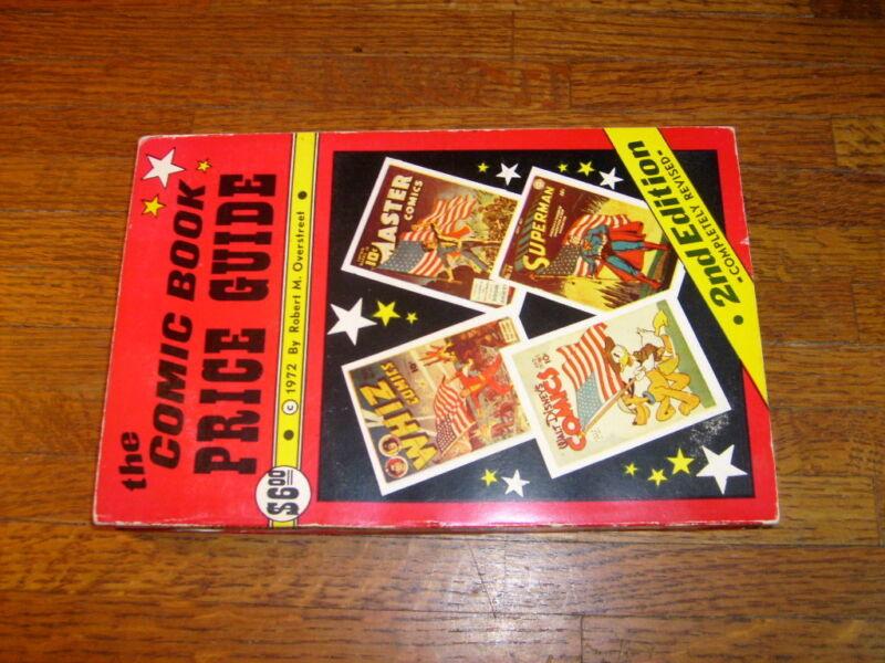 OVERSTREET COMIC BOOK PRICE GUIDE #2, 1972, fine