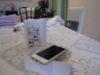 IPHONE 5S gold 16GB IS ON vodafone network