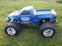 Remote control petrol fg monster truck 1/6 scale for sale