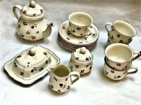Villeroy & Boch, Petit Fleur, tea set