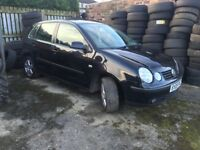 Vw polo 1.4 fsi spares or repairs