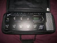 Fender Mustang Floor Guitar Multi Effects Processor + Gig Bag.