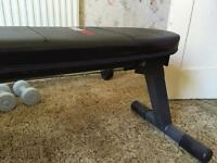 Bodymax folding exercise bench