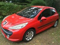2007 Peugeot 207 1.6HDi £30 Road tax per year Many new parts