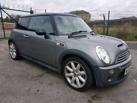 2004 544 MINI COOPER S, SUPERCHARGED, 168 BHP, TWIN PANORAMIC ROOF, HPI CLEAR, 91K MILES, FULL MOT,