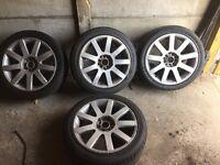 Audi 17inch tt wheels