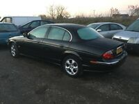 2001 Jaguar s type 3.0 litre Automaticin lovely all round condition mot sat nav fully loaded car