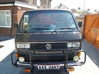 VW Caravelle Weekender Camper owned for 29 years New Recondition Engine