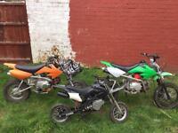 Mini Moto / pit bikes