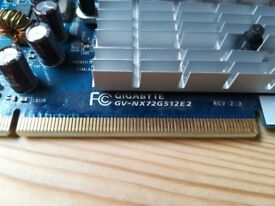 Nvidia GeForce GS7200GS Graphics Cards