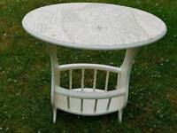 Upcycled Magazine Occasional table