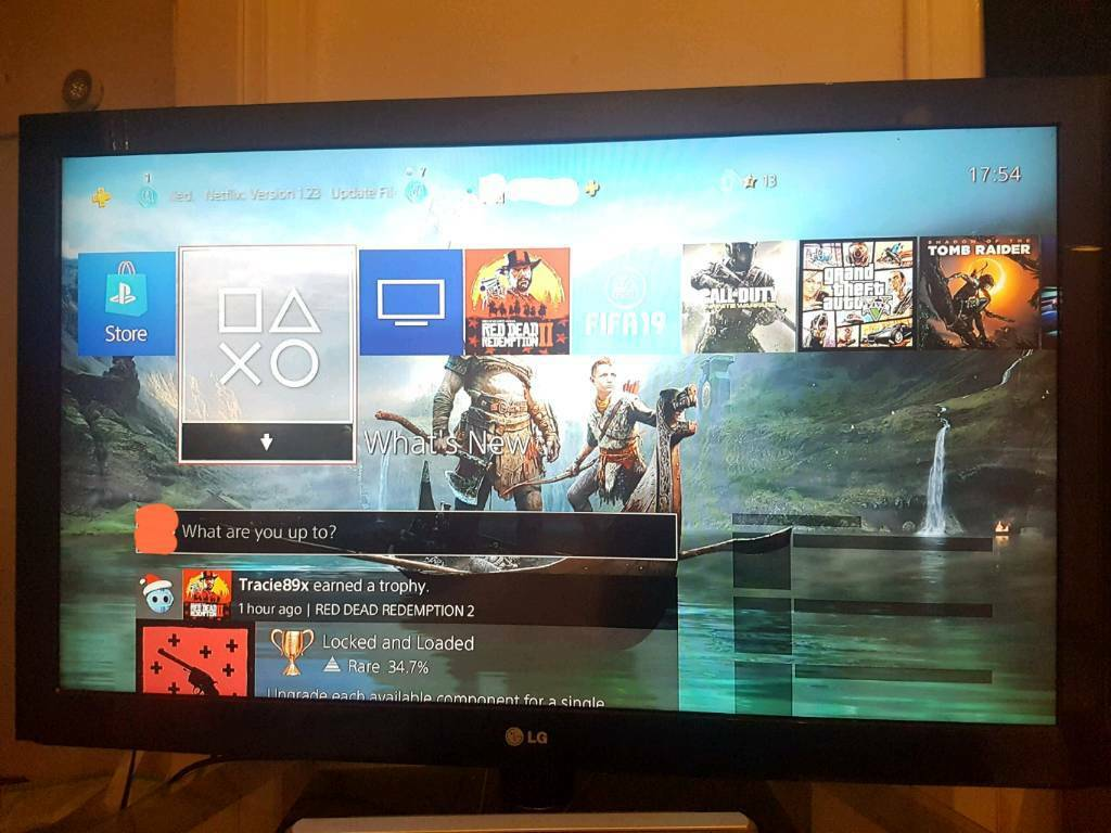 LG 42inch Lcd TV with Sony Home systemGood Condition | in Glasgow | Gumtree