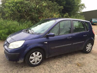 2004 54 RENAULT SCENIC 1.5 DCI MOT 2/2017 PART EX WELCOME DELIVERY ANYWHERE IN UK