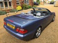 Mercedes CLK 230 K - LOWERED - WORKING ROOF - AUTOMATIC