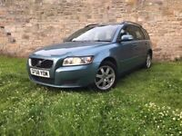 VOLVO V50 2009 2.0 D, ESTATE DIESEL, LONG MOT