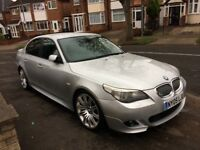 2005 BMW 535d m sport, twin turbo, sat nav, heated leathers, hpi clear Bargain!!! Bargain!!!