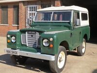 LAND ROVER SWB SERIES 3 GALVANISED CHASSIS 1981 EXCELLENT CONDITION 25000 MILES