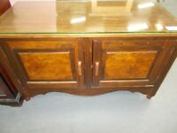 Small cupboard with glass top 33929C £25