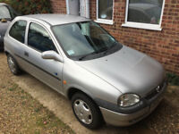 Vauxhall Corsa 1L 12v V (reg) 1999 Spares or Repairs Low Mileage - No Offers