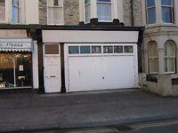 Large Garage/Store available to let on Alga Terrace Sacrborough