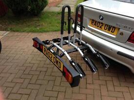 Thule 9503 RideOn three bike tow bar ball carrier