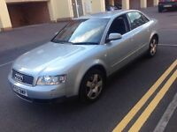 Audi A4 2.4SE 4 Door Blue saloon 52 reg