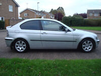 BMW 320 TD SE-Sport Compact 3dr,Diesel,SPORT LEATHER SEATS,147.000 Miles Full Service History,