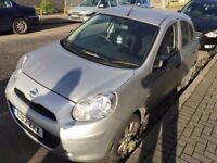 2012 NISSAN MICRA VISIA. BRILLIANT DRIVE. RECENTLY SERVICED. FULL SERVICE HISTORY.3 MONTHS WARRANTY.