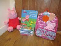 Peppa Pig bundle (including Build a Bear)