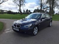 ***2006 BMW 525I SE CREAM LEATHER 1 OWNER FROM BRAND NEW FULL BMW SERVICE HISTORY 2 KEYS***