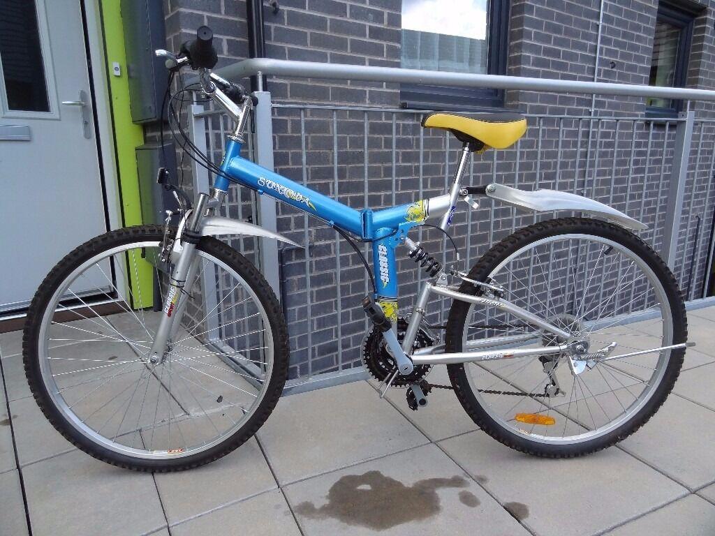 "SUNLOVA Classic Sport Folding Bike - 26"""