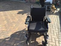 Aries electric mobility wheelchair