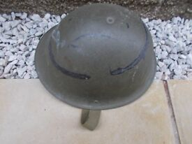 1950s Military Metal Helmet
