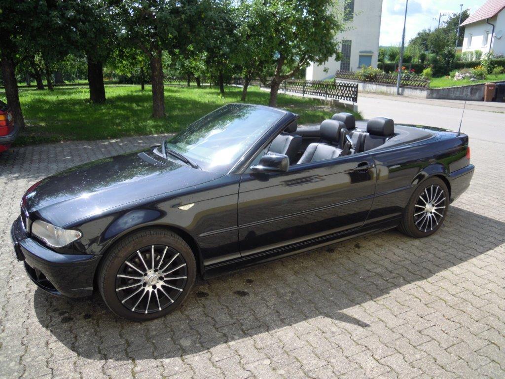 BMW E46 CABRIO - 70000km - Leder - Soundsystem - Alu - Klima - Xeon - Klima