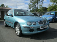 Rover 25 1.6 iL Stepspeed auto 5dr comes with 12 months mot