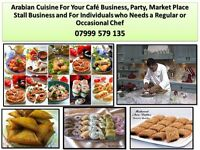 I am grill chef assistant, kitchen assistant and private chef of Arabian food
