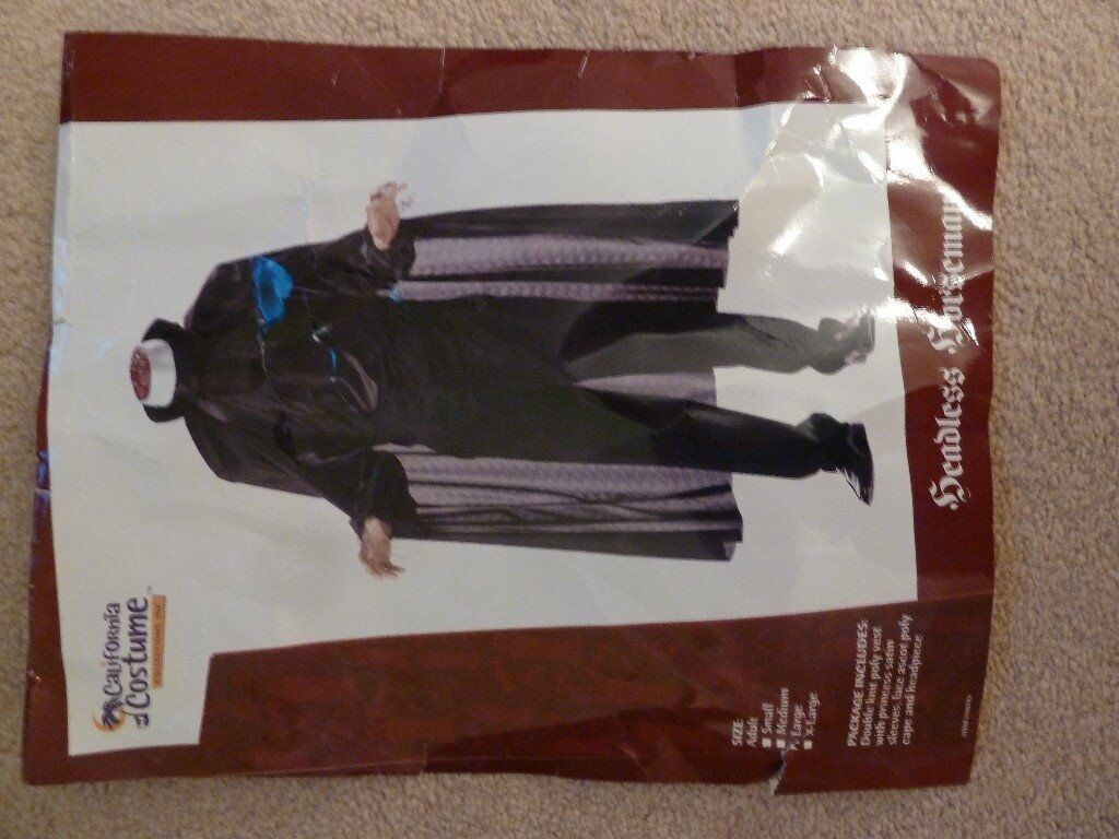 Gents Headless Horseman Halloween Costume