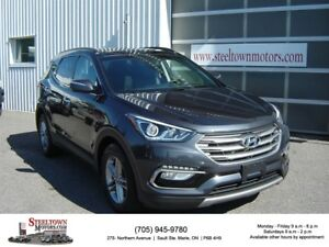 2017 Hyundai Santa Fe AWD|H/Leather|Pano Roof|P/Seat