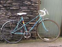 Peugeot vintage bike steel frame bicycle