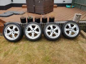 "OZ Racing Audi TT 18"" split rims 225 / 40 ZR18"