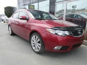 2010 Kia Forte SX AUTO WITH LEATHER & MOONROOF
