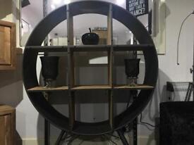 Retro Circle Shelf