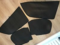 Toyota Auris tailor fit sun blinds. Suitable for 5 door 2008 model and other years