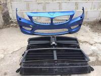 BMW Z4 E89 2009 2010 2011 genuine m sport front bumper + bumper support for sale